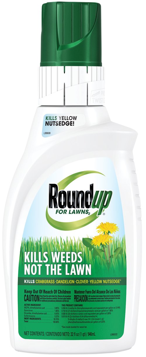 Roundup For Lawns North Conc