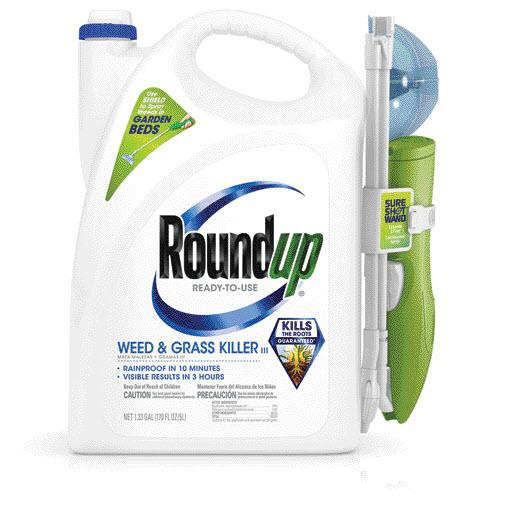 Roundup® Ready-To-Use Weed & Grass Killer III with Sure Shot® Wand
