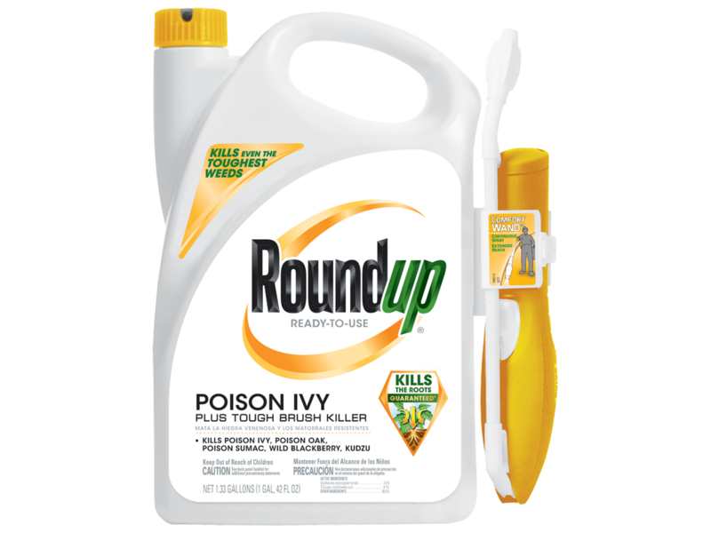 Roundup Poison Ivy With Tough Brush Killer