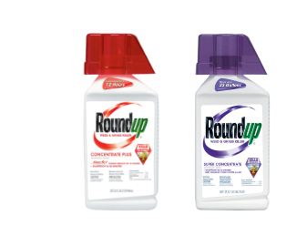 Roundup® Weed & Grass Killer Concentrate Plus & Roundup® Weed & Grass Killer Super Concentrate