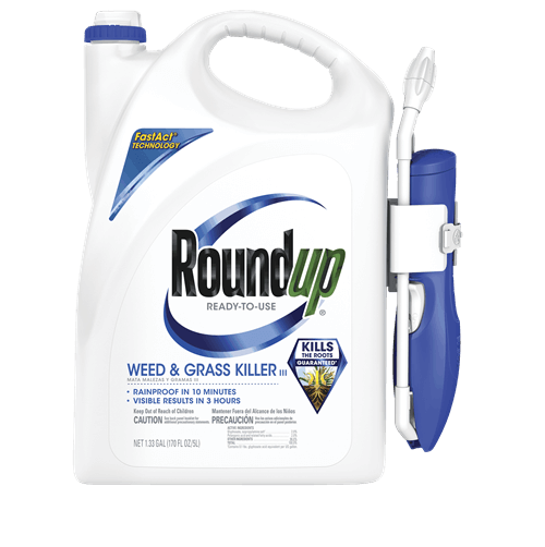 Roundup® Ready-To-Use Weed & Grass Killer III with Comfort Wand®