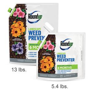 Roundup Landscape Weed Preventer