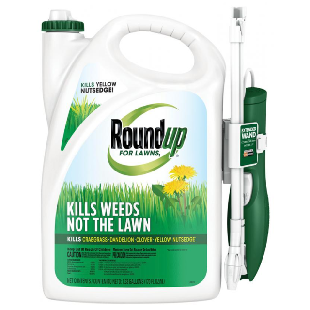 Roundup Lawn Weeds