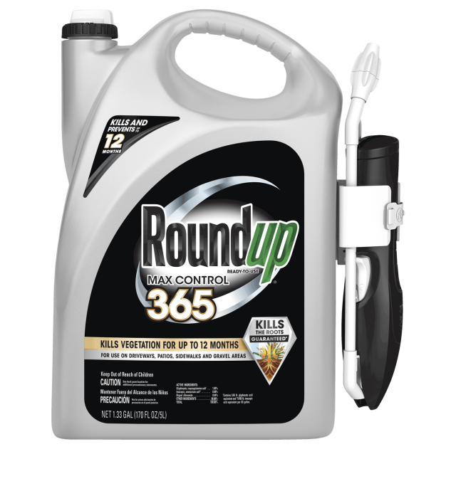 Jug of Roundup® Ready-To-Use Max Control 365 with Comfort Wand