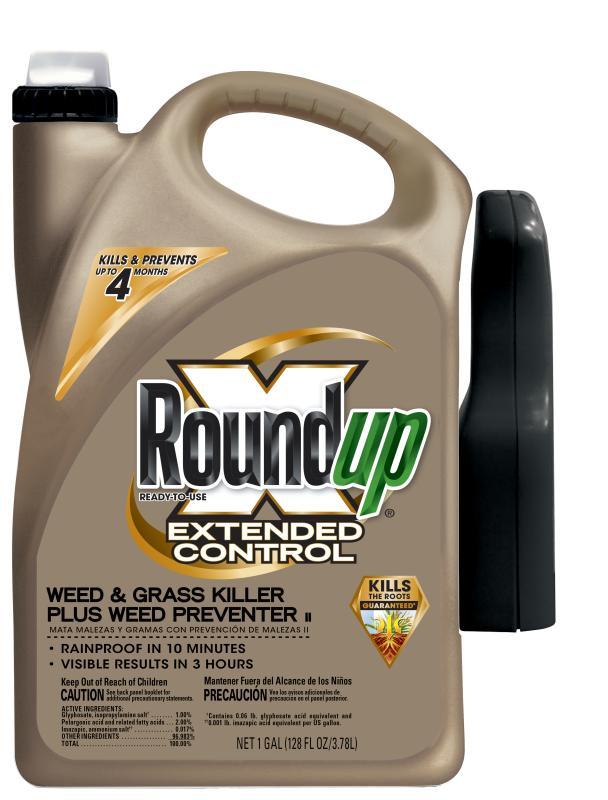 Roundup® Ready-To-Use Extended Control Weed & Grass Killer Plus Weed Preventer II with Trigger Sprayer