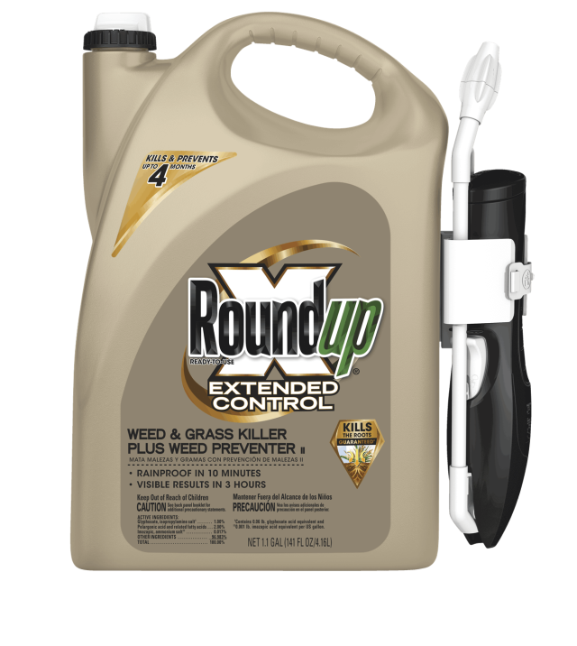 Jug of Roundup® Ready-To-Use Extended Control Weed & Grass Killer Plus Weed Preventer II with Comfort Wand