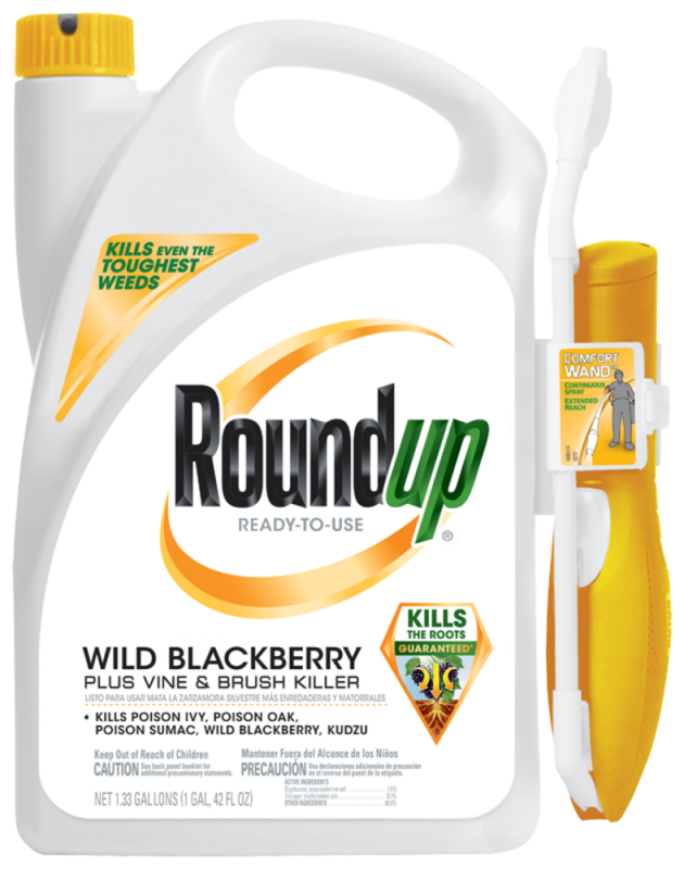 Roundup Ready To Use Wild Blackberry Plus Vine And Brush Killer With