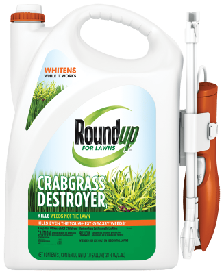 Roundup® for Lawns Crabgrass Destroyer1